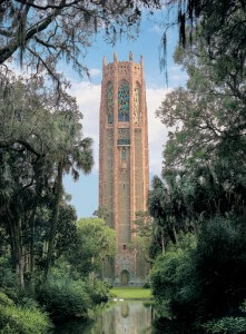 Visit  the stunning Singing Tower on your romantic vacation to Florida.