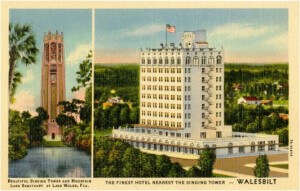 Tower and Hotel postcard