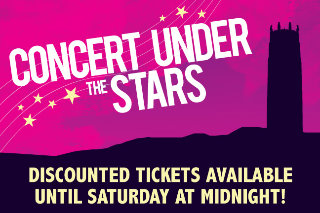 Discounted Concert Under the Stars Tickets
