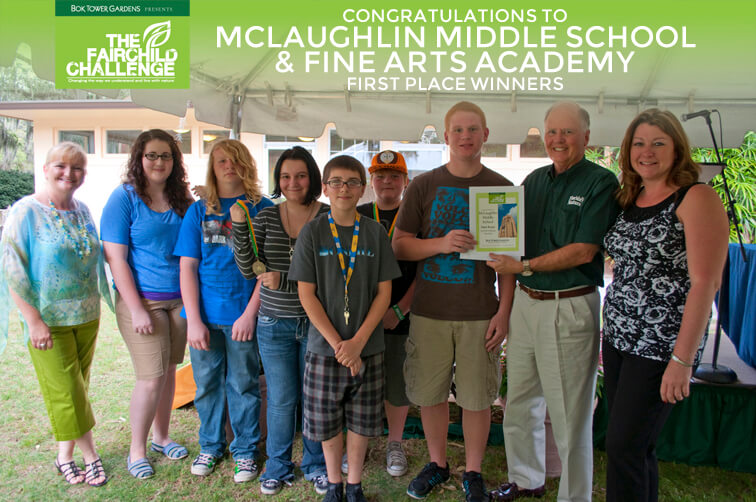 McLaughlin Middle School - First Place Winners