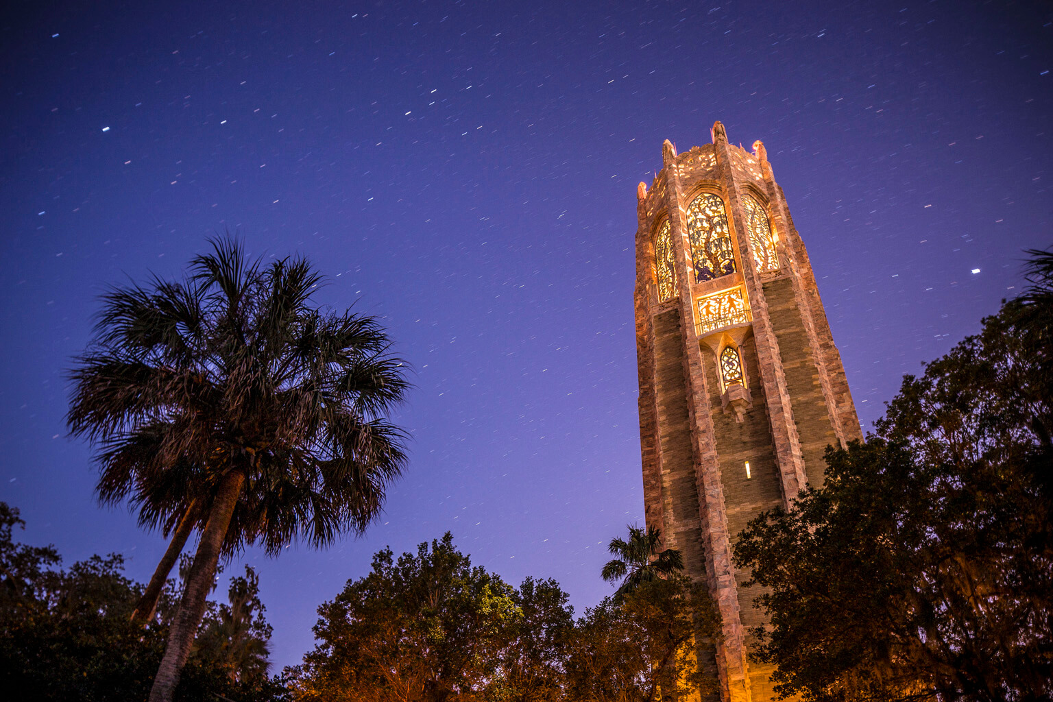 Bok Tower Gardens Moonlight Carillon Concerts • Photo by Chad Baumer