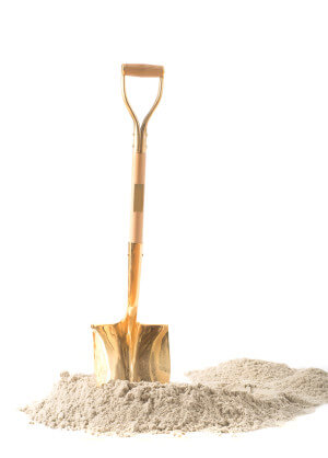 Gold Shovel groundbreaking