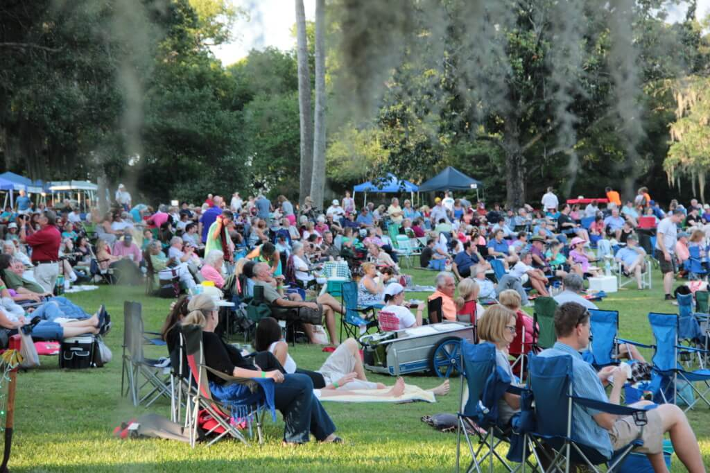 Concert Under the Stars 2014_crowd