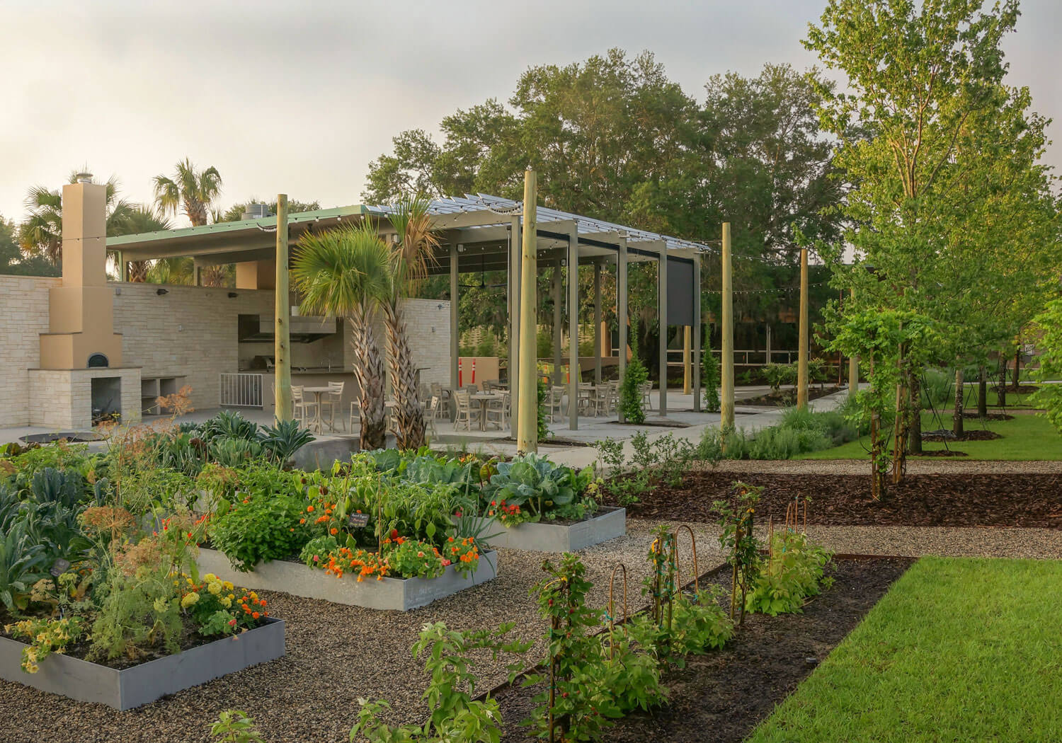 Edible Garden & Outdoor Kitchen